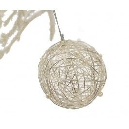Dekorace Metal Ball with Pearls