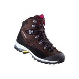Dámské kotníkové boty Sonnblick Dark Brown Black 37.5