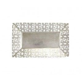 Dekorační podnos Silver Maze Large