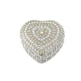 Šperkovnice Silver Pearls Heart