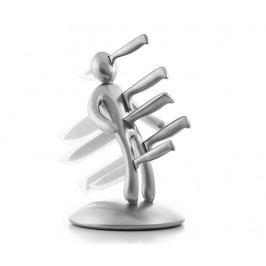 Sada 5 nožů se stojanem Voodoo Silver Pro