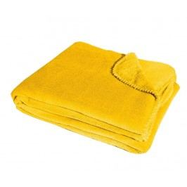Deka Framboise Yellow 180x220 cm