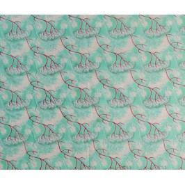 Šátek Branches Green 110x180 cm