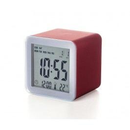 LCD Budík Cube Red