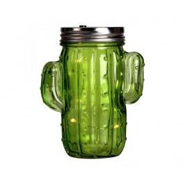 Světelná dekorace Cactus Lampion Green