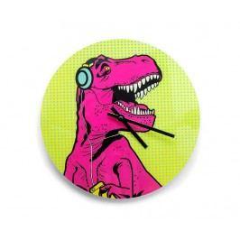 Nástěnné hodiny T-Rex