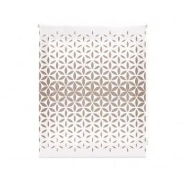 Zatemňovací roleta Abstract Mosaic Beige 180x180 cm
