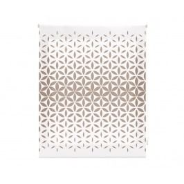 Zatemňovací roleta Abstract Mosaic Beige 180x250 cm