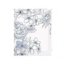 Zatemňovací roleta Japan Blossom Grey 180x180 cm