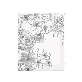 Zatemňovací roleta Japan Blossom Dark 100x250 cm