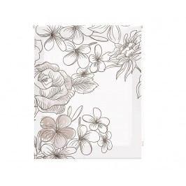 Zatemňovací roleta Japan Blossom Taupe 180x250 cm