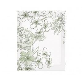 Zatemňovací roleta Japan Blossom Green 180x180 cm