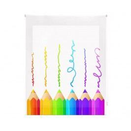 Zatemňovací roleta Crayons 180x180 cm