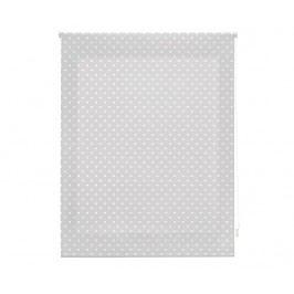 Zatemňovací roleta Dots Grey 100x250 cm