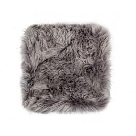 Polštář na sezení Fluffy Grey 40x40 cm