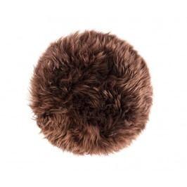 Polštář na sezení Fluffy Brown 35 cm