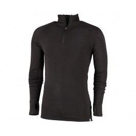Pánské triko s dlouhým rukávem Heppa Black XL