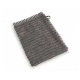 Sada 6 koupelnových rukavic Cambria Bamboo Dark Grey 16x21 cm