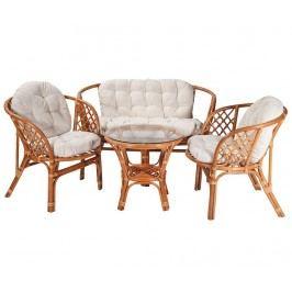 Sada venkovního nábytku, 4 díly Kellan Zahradní nábytek