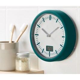 Koupelnové nástěnné hodiny s povrchem soft touch