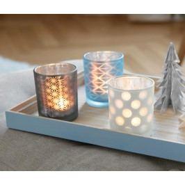 Svícny na čajové svíčky, 3 ks