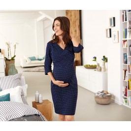 Těhotenská a kojící noční košile s biobavlnou