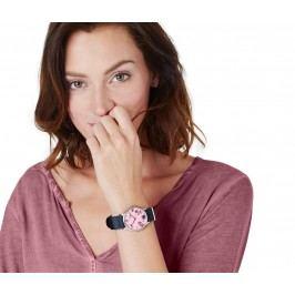 Náramkové hodinky s květinovým vzorem